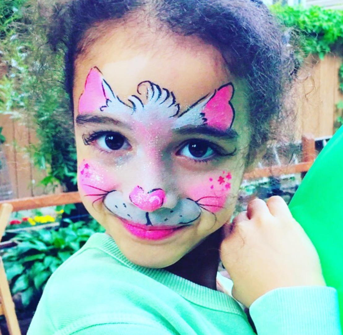 kitty face painting NYC