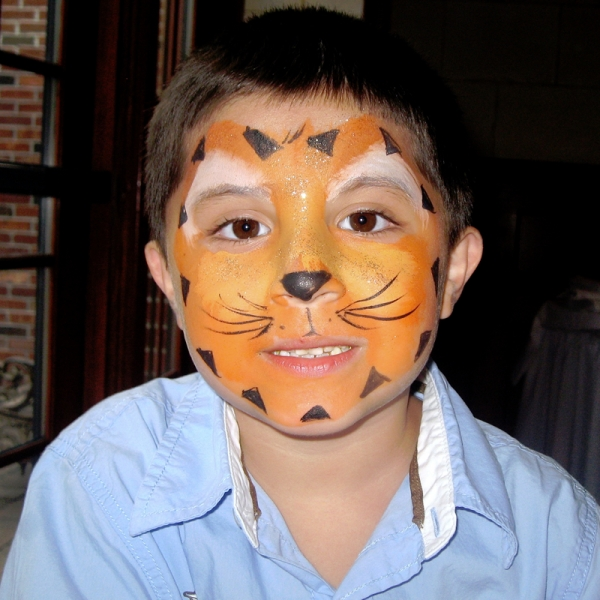 tiger face NYC face painting