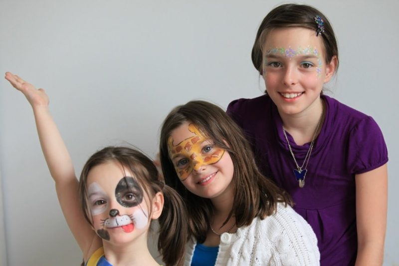 Face Painting NYC Designs by Kiki's Face Painters in Manhattan