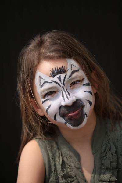 Zebra Face Painting NYC