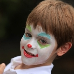 clown face painting NYC