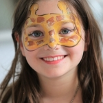 giraffe face painting mask NYC