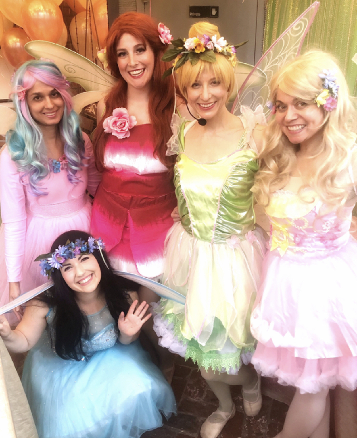Tinkerbell and fairy princess party in NYC