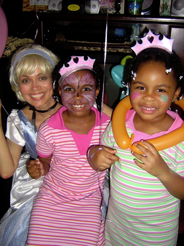Cinderella kids' party in NYC