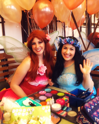 Fairy Princess Face Painters Characters NYC kids party