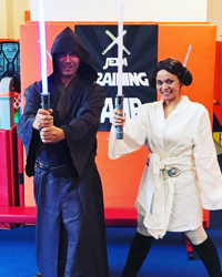 Star Warriors Knight and Princess Party NYC