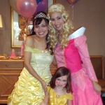 Sleeping Beauty and Princess Beauty at NYC kids' party