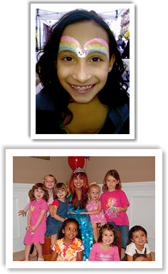 face painting balloons nyc birthday party princess parties in NY, NY Manhattan kids children's events