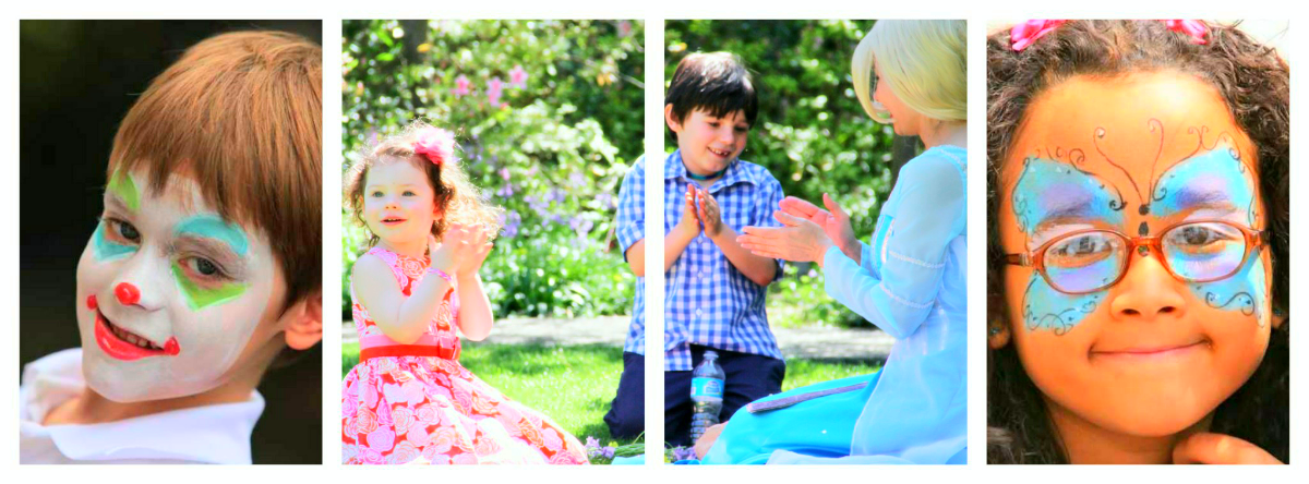 Elsa, Face Painting NYC