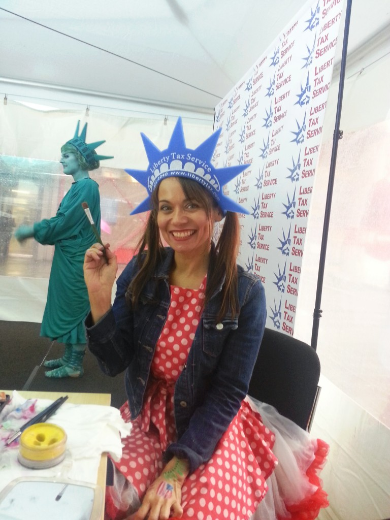 corporate face painters NYC events balloonists characters parties face painting balloons