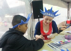 NYC corporate face painters Manhattan kids events balloonists birthdays children's enertainment