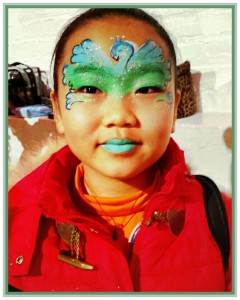 Fabulous Sparkly Face Painting for children in Manhattan