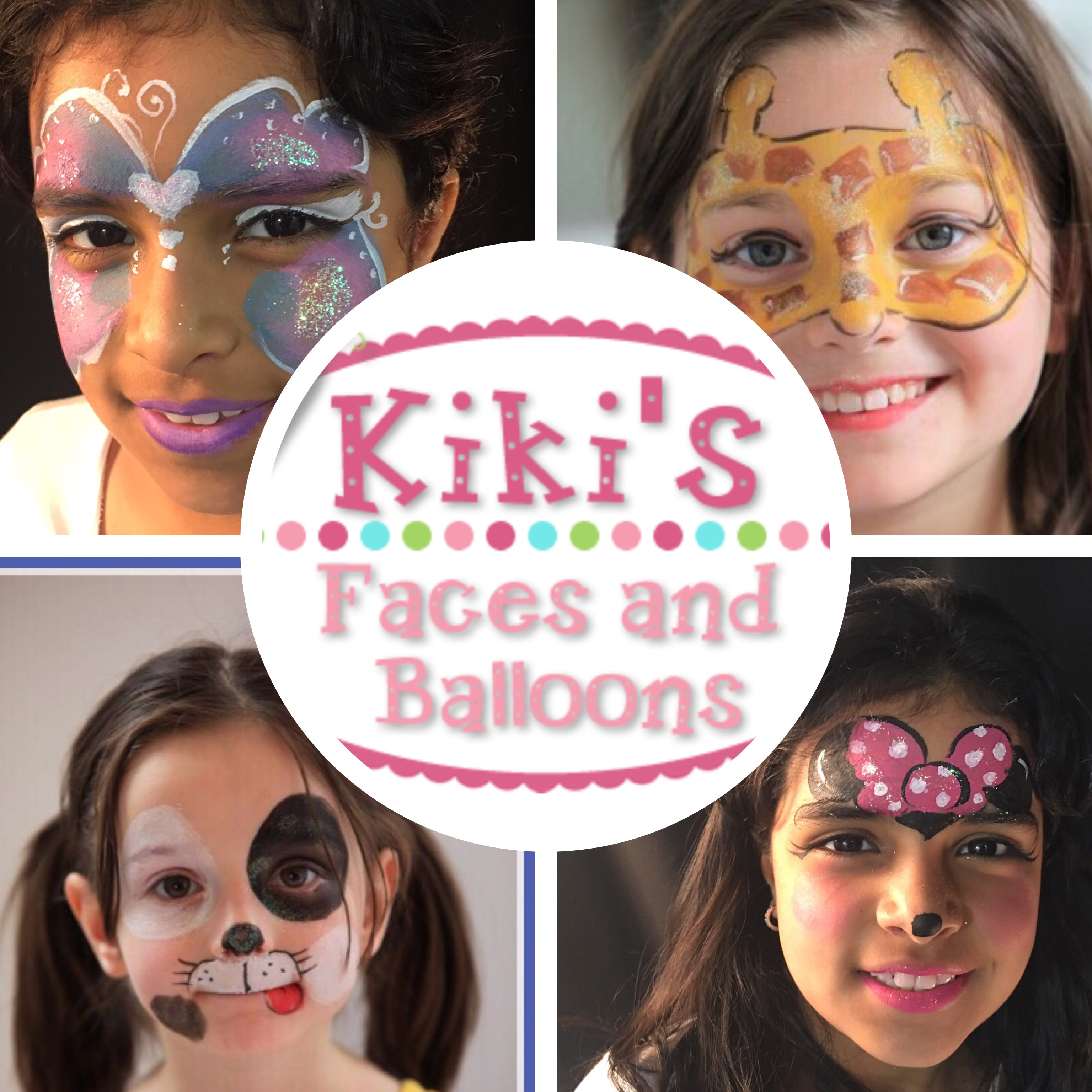 NYC Face Painting and Balloons Kids parties corporate events professional face painter and balloon artist NY princess face painter balloons Midtown FiDi Battery Park UES Chelsea UWS Soho Times Square Hudson Yards