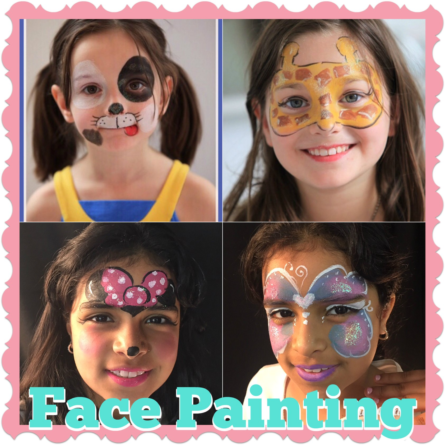 Best Face Painting NYC Kids Adults Birthday Party Corporate Event