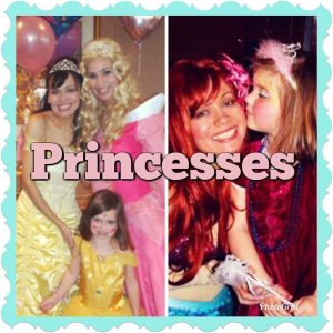 Kids Party Entertainment Packages Princess Face Painters Disney Princess Character for hire face painter and balloon artist Bellw Sleeping Beauty Birthday party