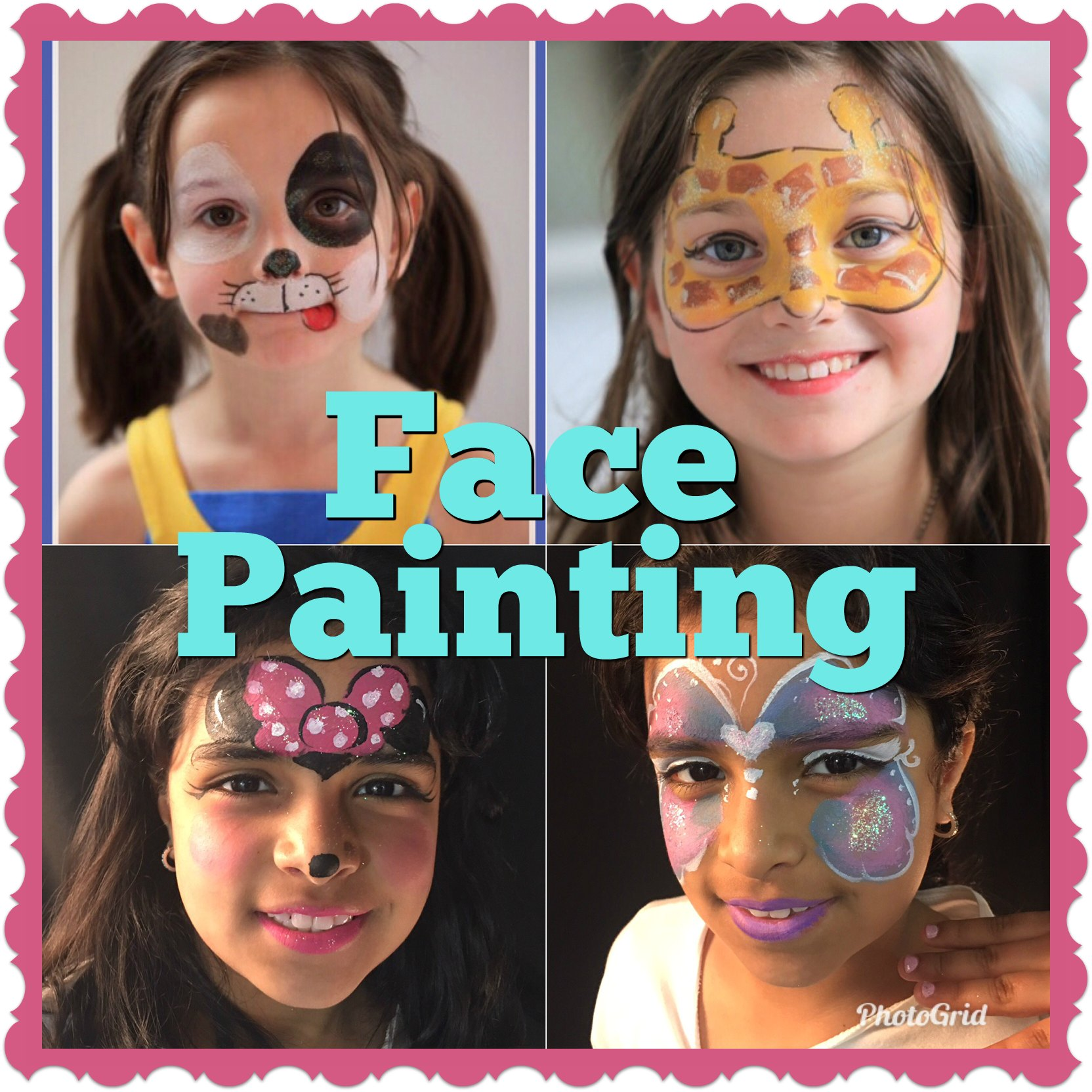 Best Face Painting NYC Kids Adults Birthday Party NYC Manhattan UES Midtown UWS Chelsea Tribeca Greenwich Village Soho East Village Union Square DUMBO Williamsburg Brooklyn Heights Westchester Riverdale Corporate Event