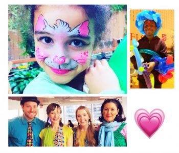 corporate event face painters balloon artists face painting Balloonist NYC company kids day promotional event Halloween Holiday Midtown FiDi Soho Tribeca Wall St. Union Square UWS UES Chelsea Times Square Hudson Yards Brooklyn NJ Hoboken