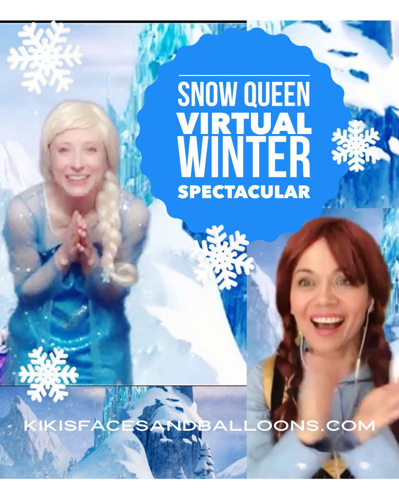 Image of Snow Queen virtual magic show